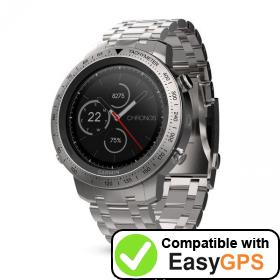 Download your Garmin fēnix Chronos waypoints and tracklogs for free with EasyGPS