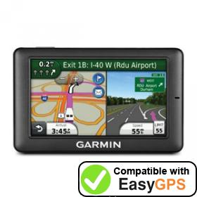 Download your Garmin fleet 590 waypoints and tracklogs for free with EasyGPS
