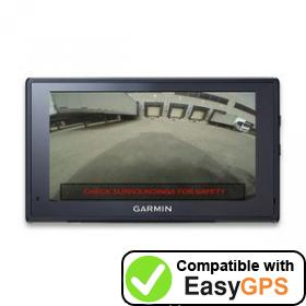 Download your Garmin fleet 670V waypoints and tracklogs for free with EasyGPS