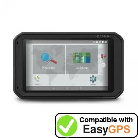 Download your Garmin fleet 770 waypoints and tracklogs for free with EasyGPS