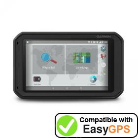 Download your Garmin fleet 790 waypoints and tracklogs for free with EasyGPS