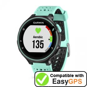Download your Garmin Forerunner 235 waypoints and tracklogs for free with EasyGPS