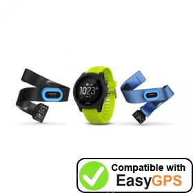 Download your Garmin Forerunner 935 waypoints and tracklogs for free with EasyGPS