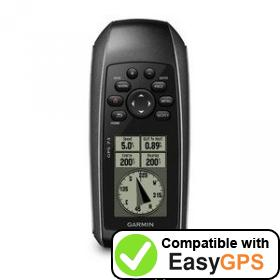 Download your Garmin GPS 73 waypoints and tracklogs for free with EasyGPS
