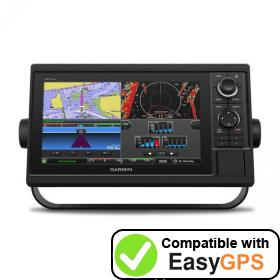 Download your Garmin GPSMAP 1022 waypoints and tracklogs for free with EasyGPS