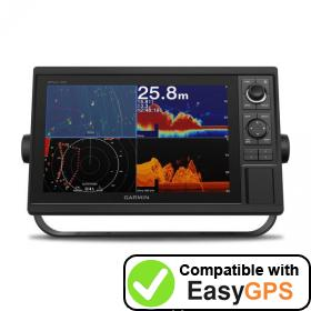 Download your Garmin GPSMAP 1222xsv waypoints and tracklogs for free with EasyGPS
