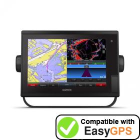 Download your Garmin GPSMAP 1242 Touch waypoints and tracklogs for free with EasyGPS