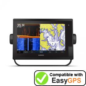 Download your Garmin GPSMAP 1242xsv Plus waypoints and tracklogs for free with EasyGPS