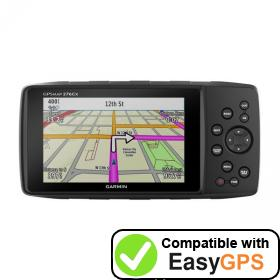 Download your Garmin GPSMAP 276Cx waypoints and tracklogs for free with EasyGPS