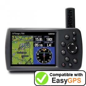 Download your Garmin GPSMAP 296 waypoints and tracklogs for free with EasyGPS