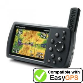 Download your Garmin GPSMAP 496 waypoints and tracklogs for free with EasyGPS
