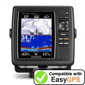 EasyGPS supports the Garmin GPSMAP