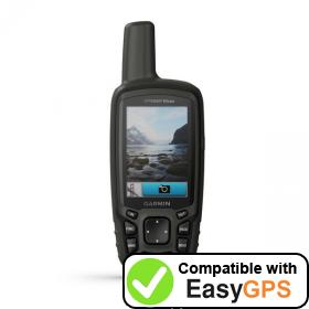 Download your Garmin GPSMAP 64csx waypoints and tracklogs for free with EasyGPS