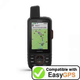 Download your Garmin GPSMAP 66i waypoints and tracklogs for free with EasyGPS