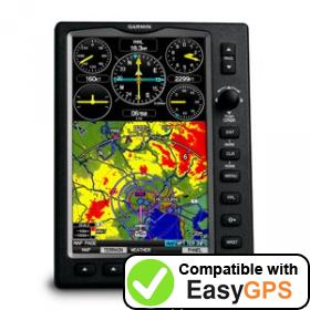 Download your Garmin GPSMAP 695 waypoints and tracklogs for free with EasyGPS