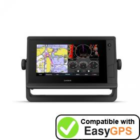 Download your Garmin GPSMAP 722 Plus waypoints and tracklogs for free with EasyGPS