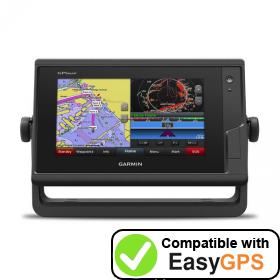 Download your Garmin GPSMAP 722 waypoints and tracklogs for free with EasyGPS