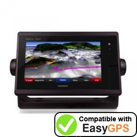 Download your Garmin GPSMAP 7407 waypoints and tracklogs for free with EasyGPS