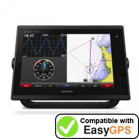 Download your Garmin GPSMAP 7412 waypoints and tracklogs for free with EasyGPS