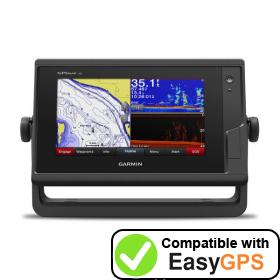 Download your Garmin GPSMAP 742xs waypoints and tracklogs for free with EasyGPS