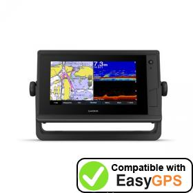 Download your Garmin GPSMAP 752xs Plus waypoints and tracklogs for free with EasyGPS