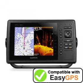 Download your Garmin GPSMAP 820xs waypoints and tracklogs for free with EasyGPS