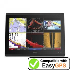 Download your Garmin GPSMAP 8417 MFD waypoints and tracklogs for free with EasyGPS