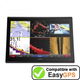 Download your Garmin GPSMAP 8424 MFD waypoints and tracklogs for free with EasyGPS