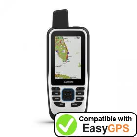 Download your Garmin GPSMAP 86s waypoints and tracklogs for free with EasyGPS