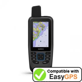 Download your Garmin GPSMAP 86sc waypoints and tracklogs for free with EasyGPS