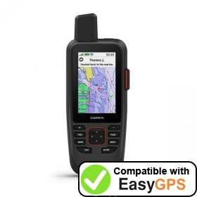 Download your Garmin GPSMAP 86sci waypoints and tracklogs for free with EasyGPS