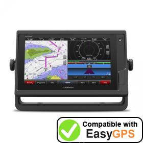 Download your Garmin GPSMAP 922 waypoints and tracklogs for free with EasyGPS
