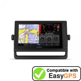 Download your Garmin GPSMAP 942 Plus waypoints and tracklogs for free with EasyGPS