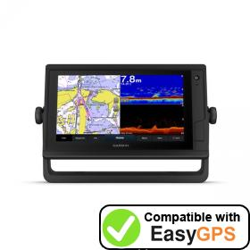 Download your Garmin GPSMAP 952xs Plus waypoints and tracklogs for free with EasyGPS
