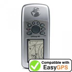 Download your Garmin GPSMAP 96 waypoints and tracklogs for free with EasyGPS