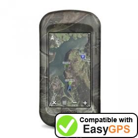 Download your Garmin Montana 600t Camo waypoints and tracklogs for free with EasyGPS