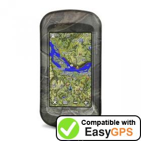 Download your Garmin Montana 610t Camo waypoints and tracklogs for free with EasyGPS