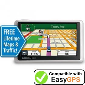 Download your Garmin nüvi 1300LMT waypoints and tracklogs for free with EasyGPS