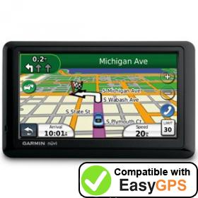 Download your Garmin nüvi 1490T waypoints and tracklogs for free with EasyGPS
