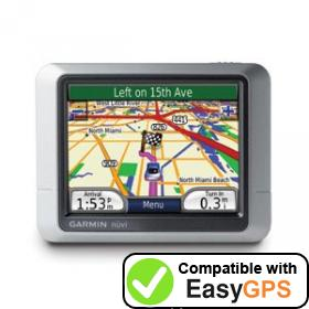 Download your Garmin nüvi 200 waypoints and tracklogs for free with EasyGPS