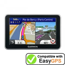 Download your Garmin nüvi 2340 waypoints and tracklogs for free with EasyGPS