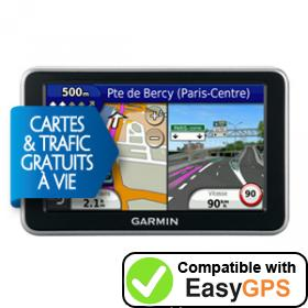Download your Garmin nüvi 2340LMT waypoints and tracklogs for free with EasyGPS