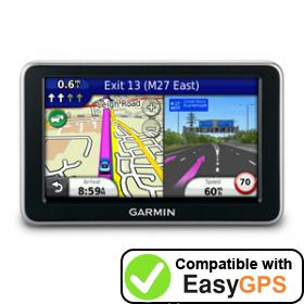 Download your Garmin nüvi 2440 waypoints and tracklogs for free with EasyGPS