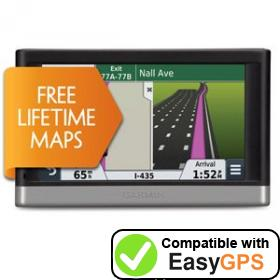 Download your Garmin nüvi 2497LM waypoints and tracklogs for free with EasyGPS