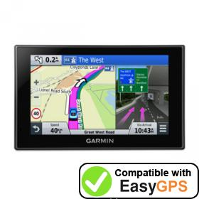 Download your Garmin nüvi 2559LM waypoints and tracklogs for free with EasyGPS