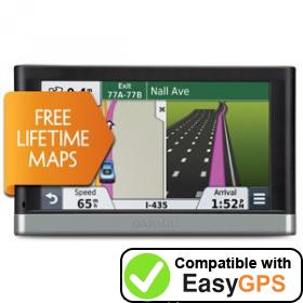 Download your Garmin nüvi 2597LM waypoints and tracklogs for free with EasyGPS