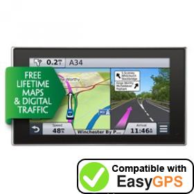 Download your Garmin nüvi 3598LMT-D waypoints and tracklogs for free with EasyGPS