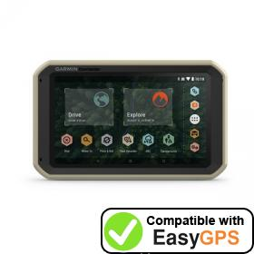 Download your Garmin Overlander waypoints and tracklogs for free with EasyGPS