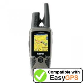 Download your Garmin Rino 530 waypoints and tracklogs for free with EasyGPS
