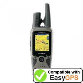 Download your Garmin Rino 530HCx waypoints and tracklogs for free with EasyGPS